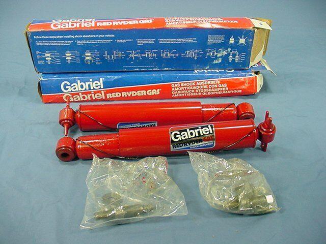 1 PAIR Gabriel Rear Gas Shocks for Pontiac GTO LeMans Malibu Nova 81514