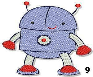 PERSONALISED EMBROIDERED BOOK BAG /& STRAP WITH ROBOT DESIGN /& NAME SCHOOL robo