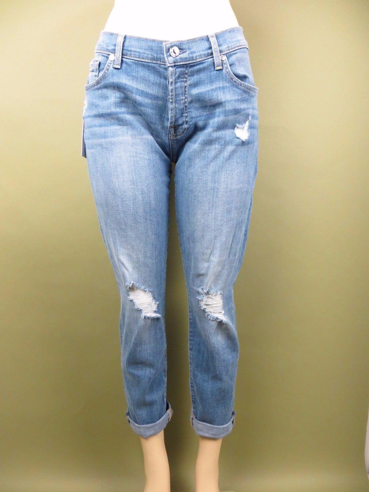 Nuevo con etiquetas 7 Seven for all mankind jeans Josefina  femenino novio, LKP2, Talla 29, 229    Mejor precio