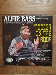 Alfie-Bass-amp-Avis-Bunnage-Fiddler-On-The-Roof-HM-589-Vinyl-LP-Album