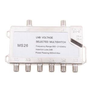 2-in-6-Diseqc-Switch-Satellite-Multiswitch-Satellite-Antenna-Flat-LNB-Switch