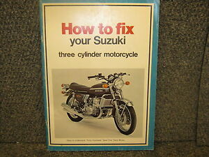 suzuki 380cc 550cc 750cc how to fix your suzuki 3 cylinder rh ebay com Suzuki 3 Cylinder Cars Yamaha 3 Cylinder