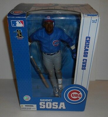 "MLB Chicago Cubs Sammy Sosa Limited Editon 12"" Baseball Action Figure NOS"