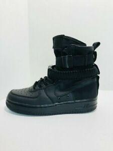 Nike MENS SF AF1 Triple Black Special
