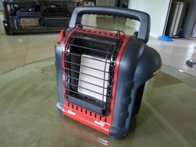 Mr. Heater Buddy 4,000-9,000-BTU Indoor-Safe Portable Propane Radiant Heater