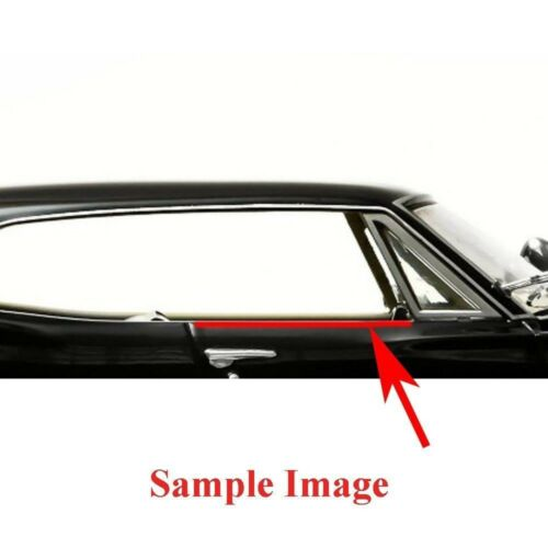 1968 Impala Windowfelt Kit 8pc Door Squeege Quarter Caprice Coupe 2 Door OEM