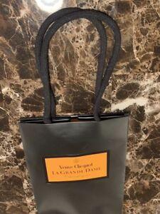 Veuve-Clicquot-Ponsardin-Champagne-Black-Orange-Gift-Bags-Heavy-Paper-w-Handles
