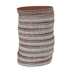 100pk-Hook-And-Loop-DA-Sanding-Grinding-Abrasive-Pad-Mixed-Grit-3-034-75mm