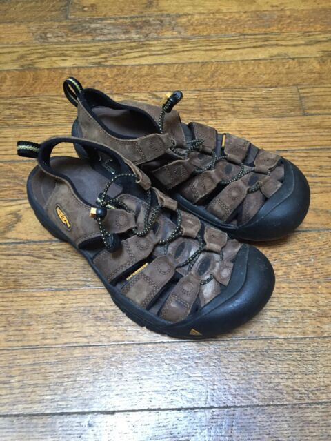 1b1bee173250 Keen Sandals Mens Size 10 Tan Slip On Hiking Shoes Newport Brown