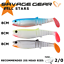 Savage Gear All Stars Soft Lures Cannibal Fat T-Tail Minnow Real Eel Mixed Lures