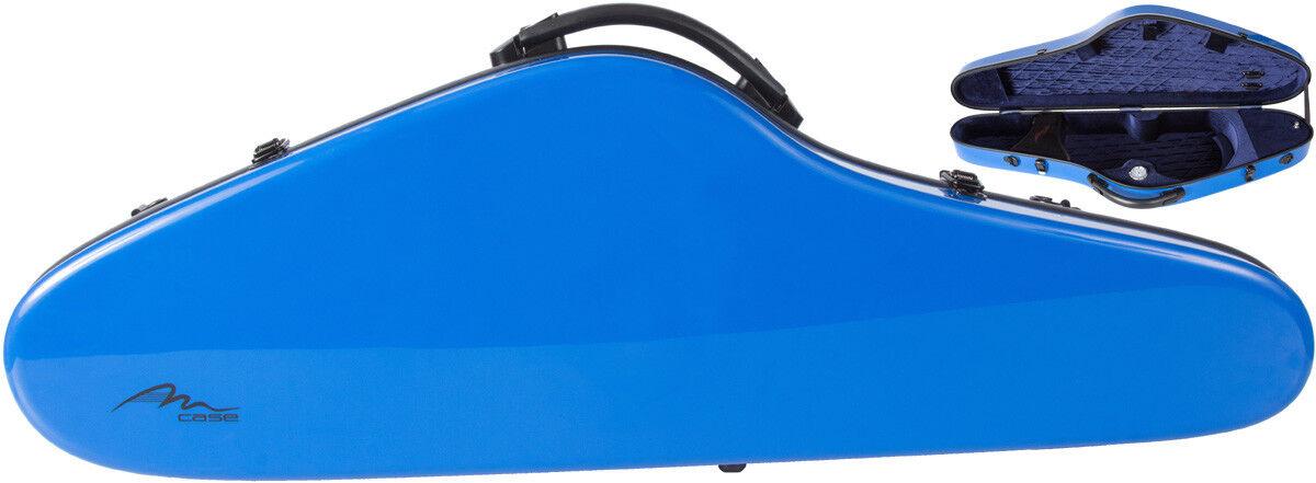 USA Fiberglass violin case SlimFlight 4 4 M-case Blau