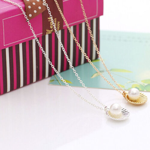 Shell Bead Sweater Necklace  Choker Chain Women Jewelry Accessories BH