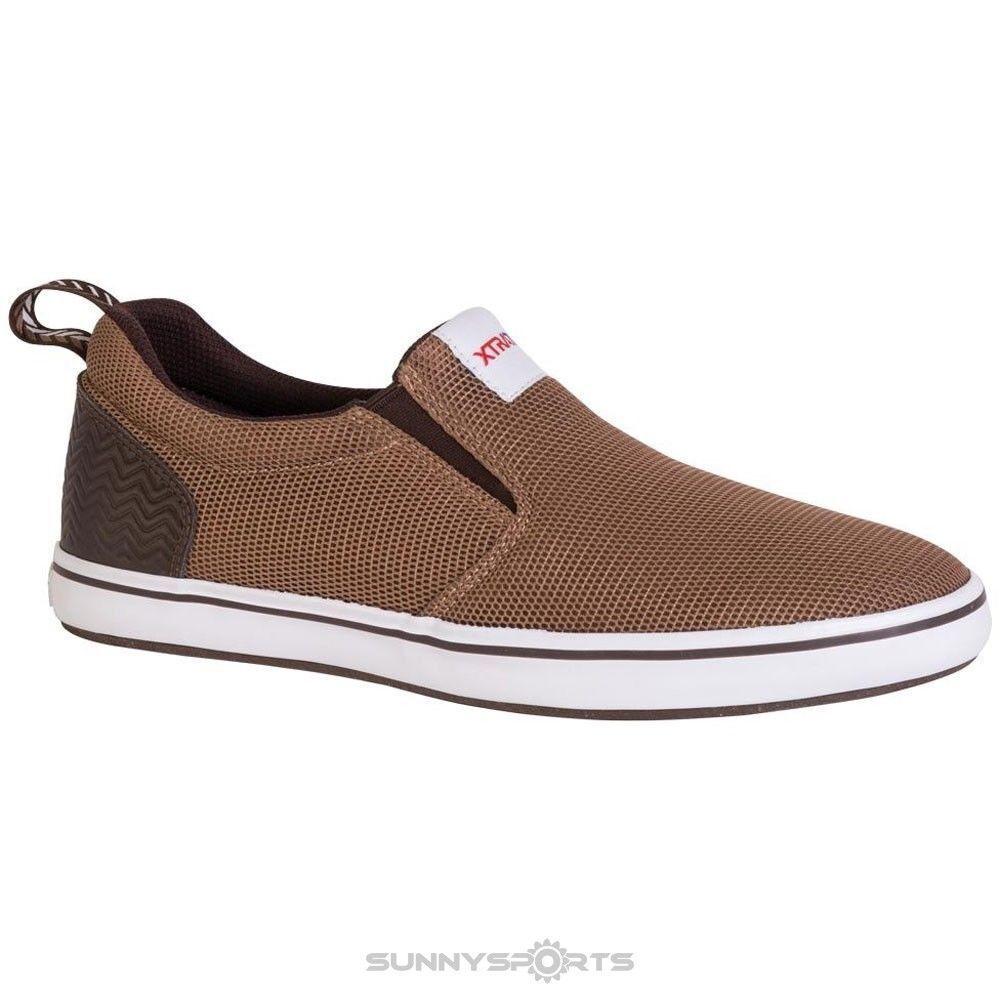 Xtratuf Sharkbyte Airmesh Shoes for Men Fishing Shoe XSAM-900 Brown