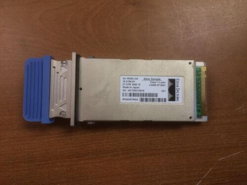 Genuine Cisco X2-10GB-LX4 10-2154-01 transceiver module