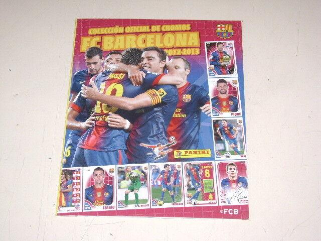 OFFICIAL ALBUM PANINI FC BARCELONA 2012-13 - 100% complete
