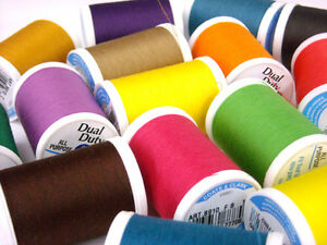 Coats-amp-Clark-Dual-Duty-XP-All-Purpose-Threads-250-Yds-Many-Colors-Available