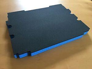 Koffereinlage-Hart-Schaumstoff-fuer-Makita-Makpac-Gr-1-2-gr-blau-30mm-3-Stk