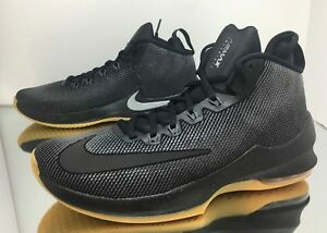 Nike Air Max Infuriate PRM Black Gum AA4439-001 Basketball Shoes Men's Multi Sz