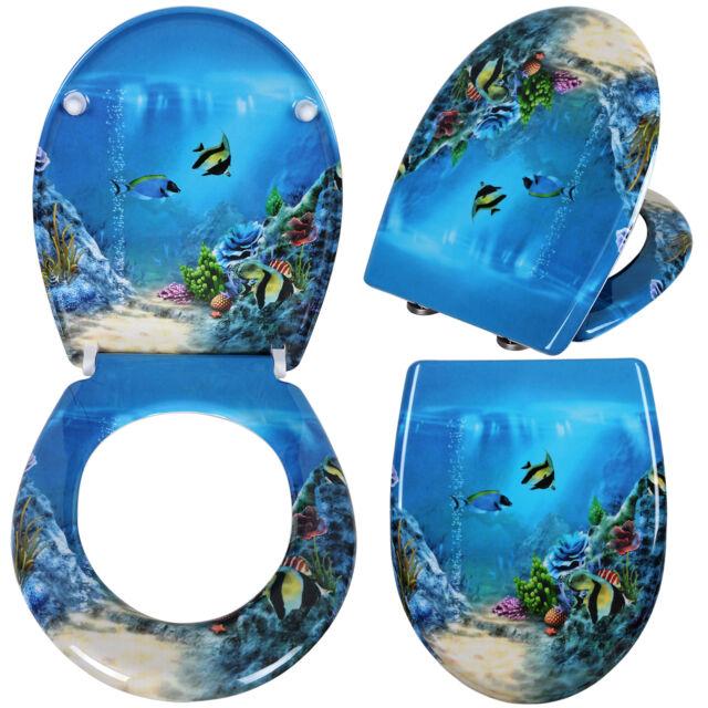 Gut gemocht WOLTU 2454 WC-Sitz - Goldfisch Blau günstig kaufen | eBay QK42
