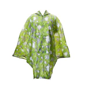 Green BNWT Eco Chic Sheep Foldable Poncho