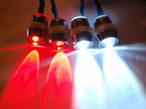 Summit E-maxx E-Revo 2W2R 10mm RC LED Light Set for Traxxas Telluride Slash