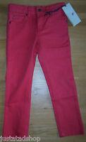 Stella McCartney girl boy jeans trousers 4-5 y BNWT designer red slim denim