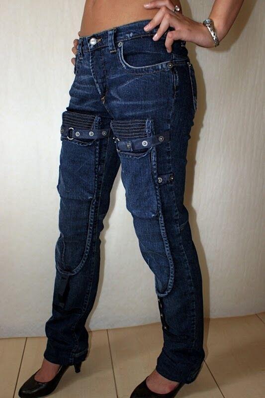 Costume National Damen Damen Damen Hose Jeans CNC Slim Fit Neu 29 | Haltbar  eb0468