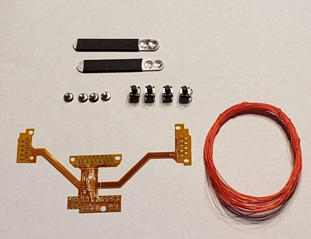 PS4 DS4 1U MOD KIT EASY REMAP BOARD W/ 2 BLACK PADDLES CUSTOM DIY BUTTON  MAPS