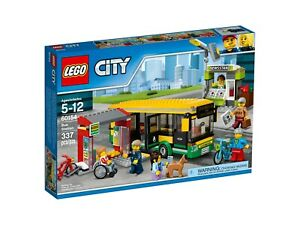 LEGO-City-60154-Busbahnhof-NEU-OVP-B-Ware