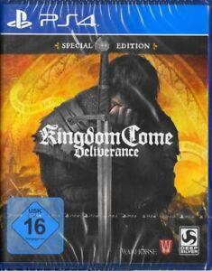 Kingdom-Come-Deliverance-SPECIAL-EDITION-PS4-Playstation-4-NEU-amp-OVP