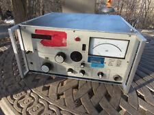 Siemens 100 Mhz D2072 Selective Level Meter Radio Electronics Test Equipment Db