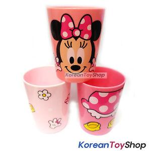 Disney-Minnie-Mouse-en-plastique-3-Pcs-Tasses-Set-Cup-Party-Supplies-Made-in-Korea