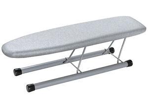 METALLISED-Folding-Sleeve-Ironing-Board-COLLARS-CUFFS-Table-Top-46-x12cm-TEFLON