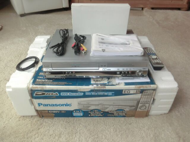 Panasonic DMR-EH80V DVD- /VHS- / HDD-Recorder, 200GB, in OVP, 2 Jahre Garantie