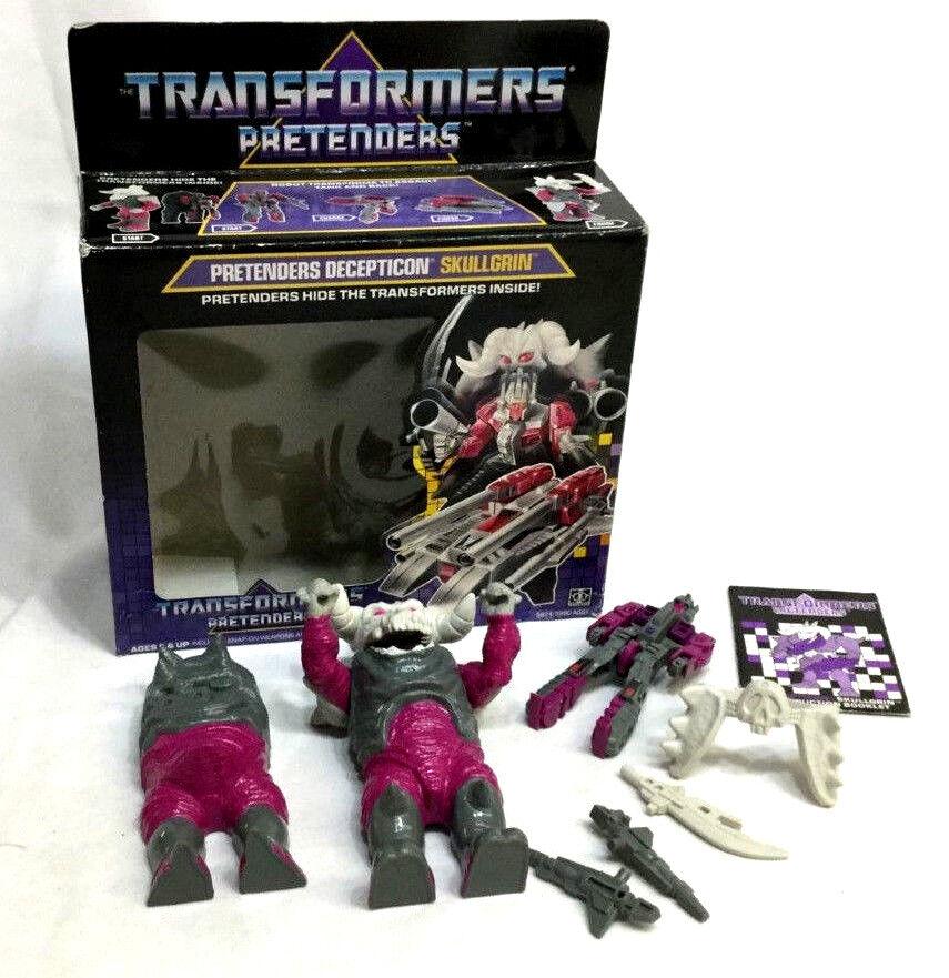 RARE 1988 Hasbro Vintage G1 Transformers Pretenders Skullgrin completare scatolaed   outlet online