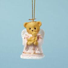 Cherished Teddies 2014 Bell Ornament Hugs From Heaven FREE SHIPPING NIB