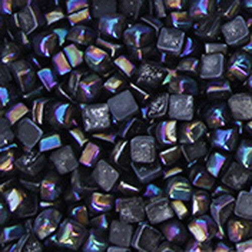 0.58mm DIY Vitreous Glass Mosaic Tiles Wall Crafts 50g Mixes Optic Drops 200pcs