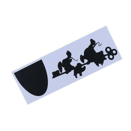 Fun Cartoon Sticker Jaq and Gus Mouse House Wall Sticker Home Decor Decal W