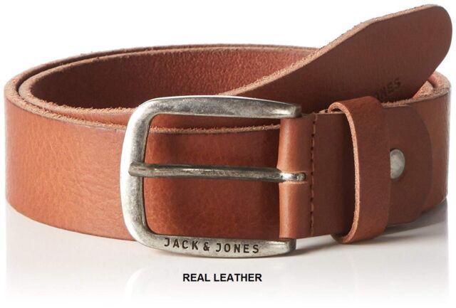 Jack and Jones Paul Belt Mocha Bisque