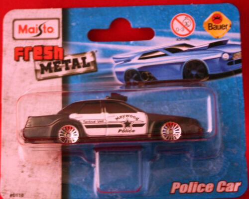 ** Police Car**Haywood Police**Modellauto**Maisto**Fresh Metal**Neu**mehrfarbig*