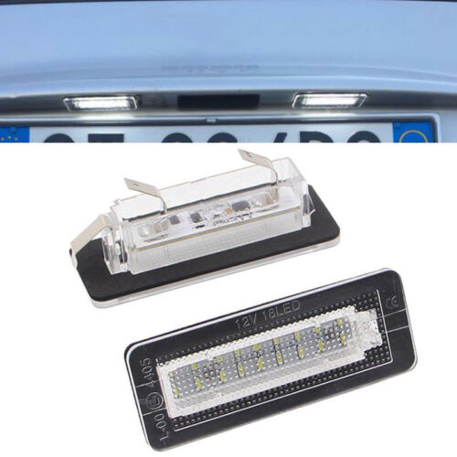 License Plate Lights Car LED For Smart Fortwo Coupe 450 451 Useful Practical