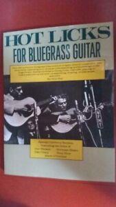 guitar bluegrass lick Hot for