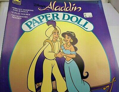 Walt Disney Aladdin Paper Doll Book