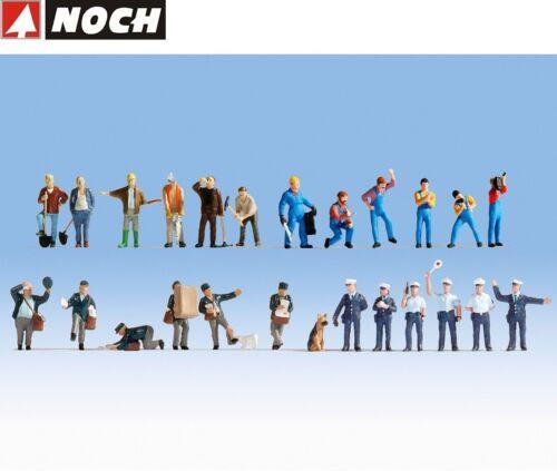 """OVP NOCH H0 16109 Figuren-XL-Set """"Bei der Arbeit"""" 24 Figuren NEU"""