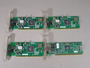 LOT-of-4-PCI-X-Gigabit-Ethernet-Network-Cards-Mixed-Types-10-100-1000-mb