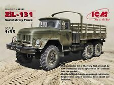 ICM 1/35 Soviet Zil-131 Soviet Army Truck # 35515
