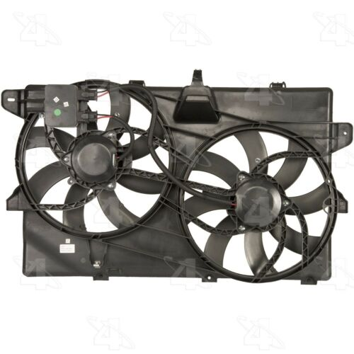 For Ford Edge Lincoln MKX Dual Radiator and Condenser Fan Assembly Four Seasons