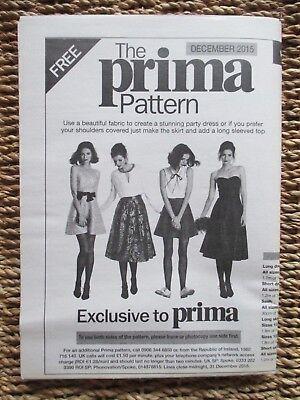 Inteligente Prima Patrón (vestido O Falda) De Diciembre De 2015 Menos Costoso