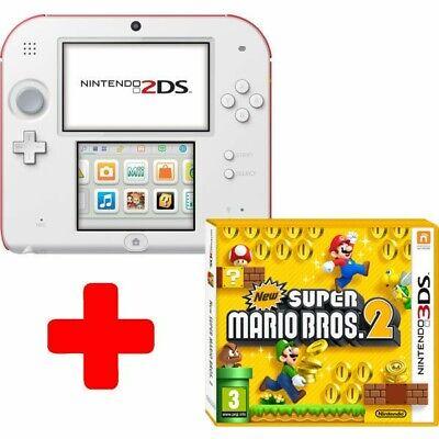Nintendo 2ds Super Mario Bros 2 Bundle Scarlet Red New In Box