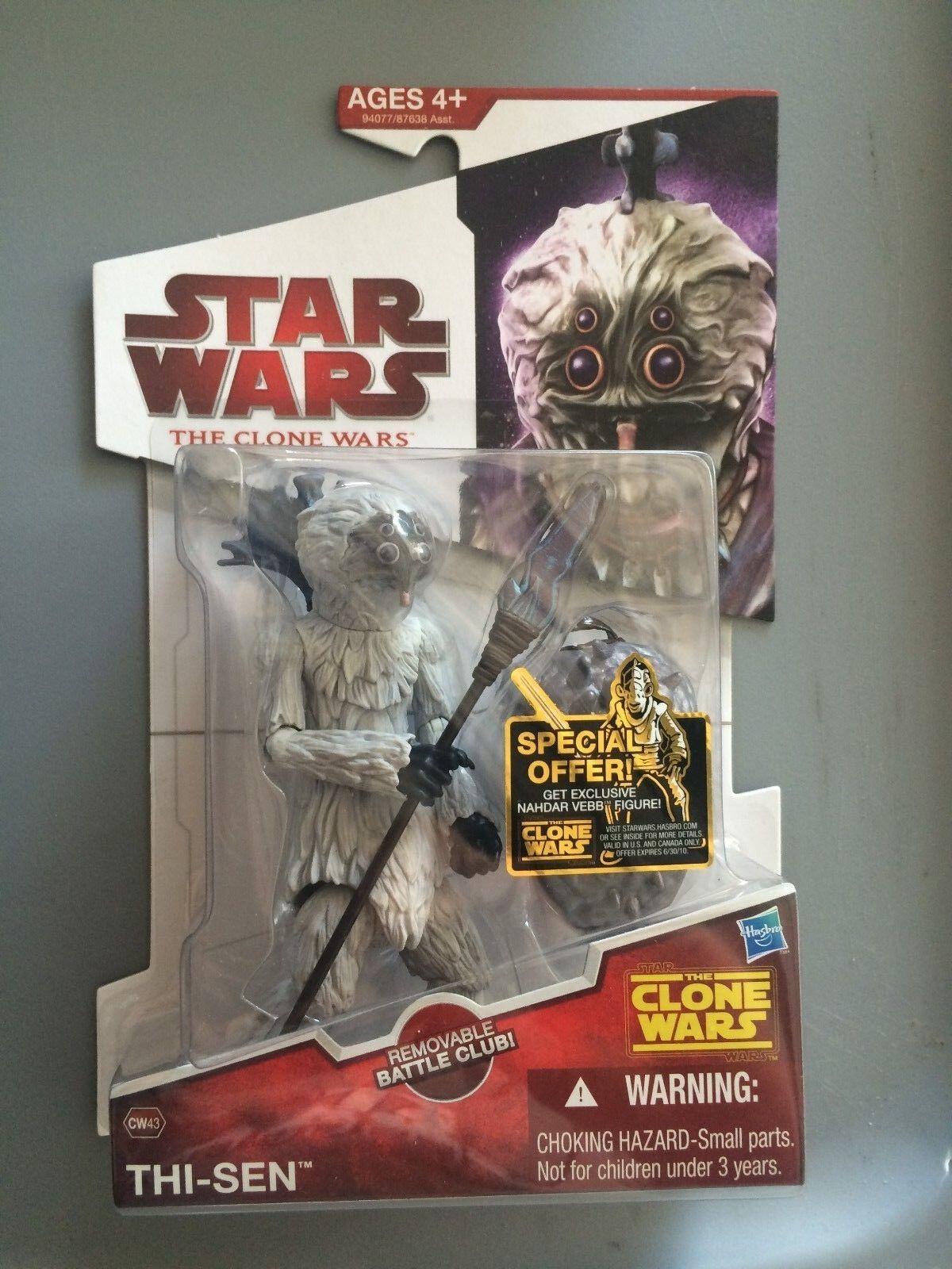 Star Wars  CLONE WARS  THI-SEN  CW43  MOC